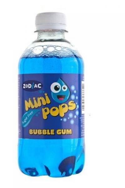 Blue fizzy drink