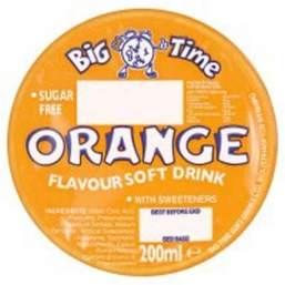 Big Time Carton Drinks 24x200ml