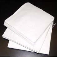 White Paper Sulphite Bags Strung