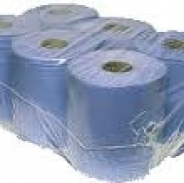 Blue Centre Feed Towel Rolls